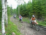 Bikes on Trail